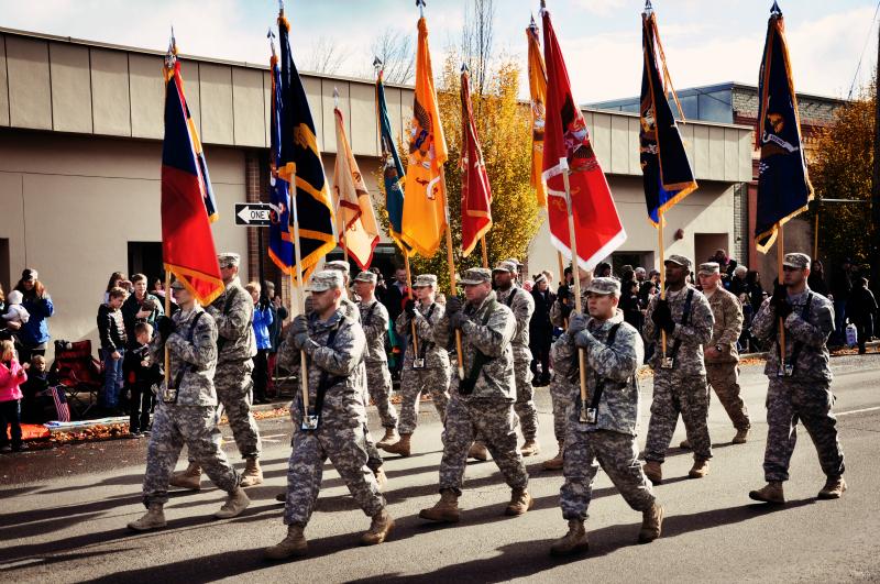 Veteran's Day Parade (2) @ Mt. Hope Chronicles
