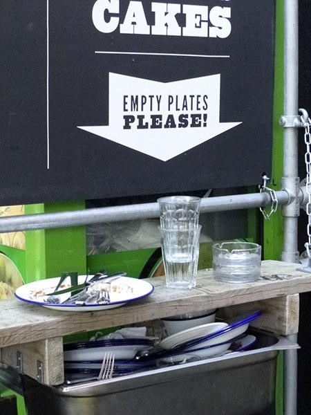 empty plates, please