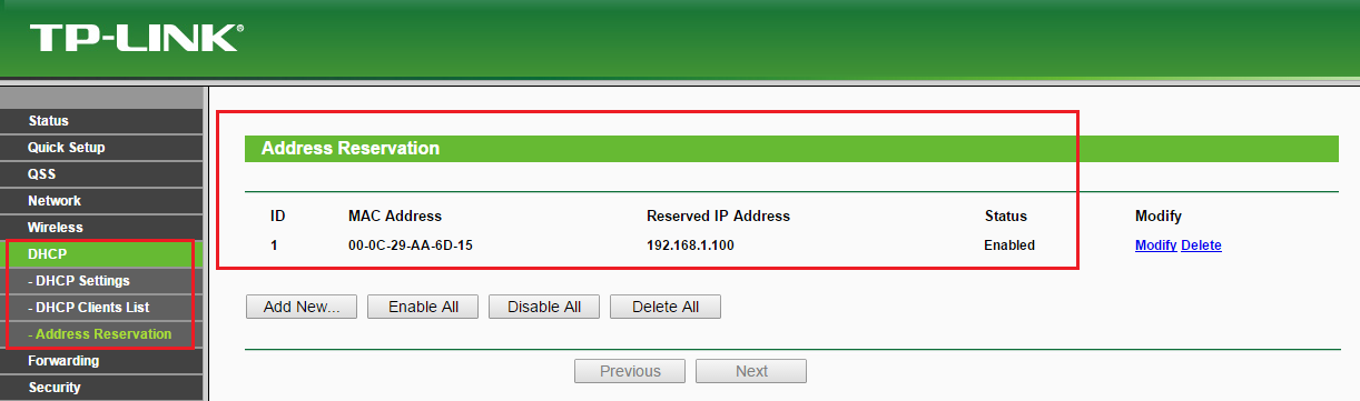 NAT_Router_Address_Reservation