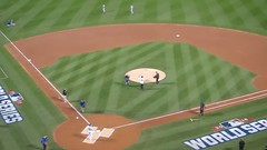 2015 World Series Game 3: Piazza First Pitch