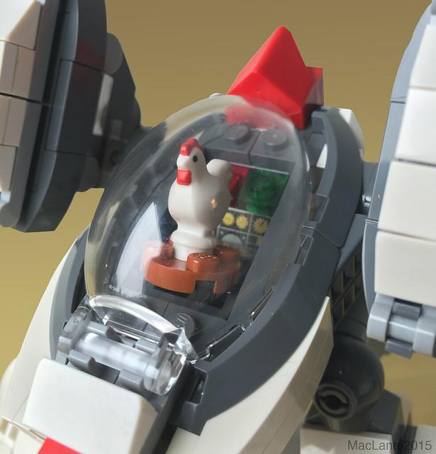 BokBokTron Thigh Fighter Cockpit