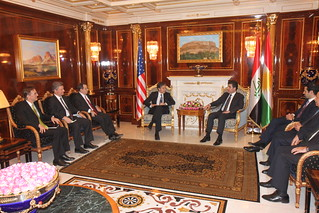 Deputy Secretary Blinken Meets With Prime Minister of the Kurdistan Regional Government Barzani in Erbil