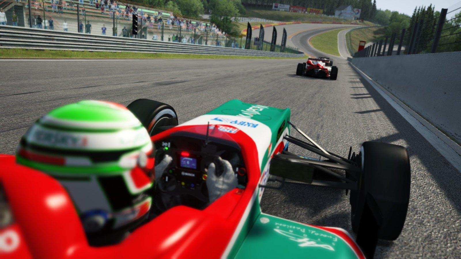 Релиз обновления для RSR Formula 3 на AC