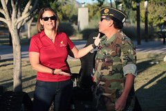 Kelli Ward with supporter