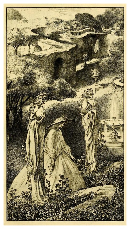 005-The sensitive plant-1899- ilustrado por Laurence Housman