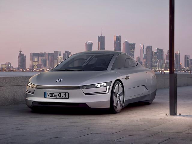 Volkswagen XL1 Concept. 2011 год
