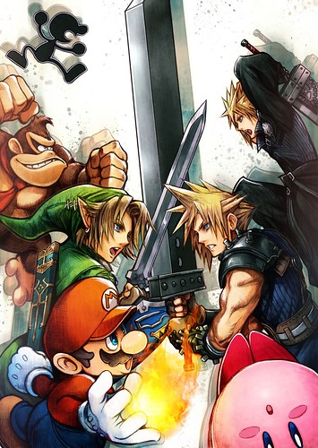 Cloud Strife - Super Smash Bros