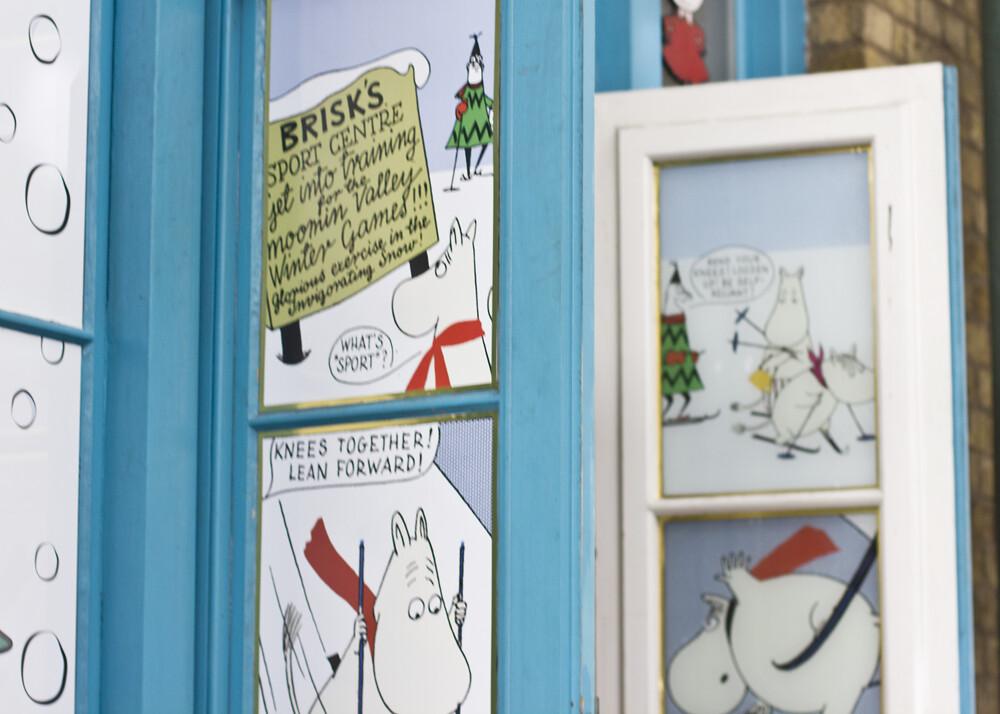 moomin, moomin shop, moomin christmas, moomins at christmas, christmas moomin, Covent Garden at Christmas, covent garden, christmas, london, covent garden market,