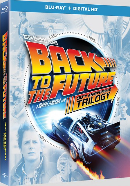 Back to the Future - Trilogy BR Cover