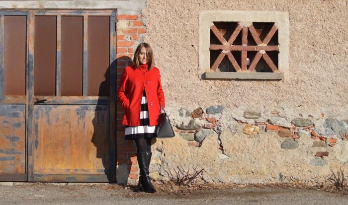 righe, cappotto rosso, wildflower girl (1)