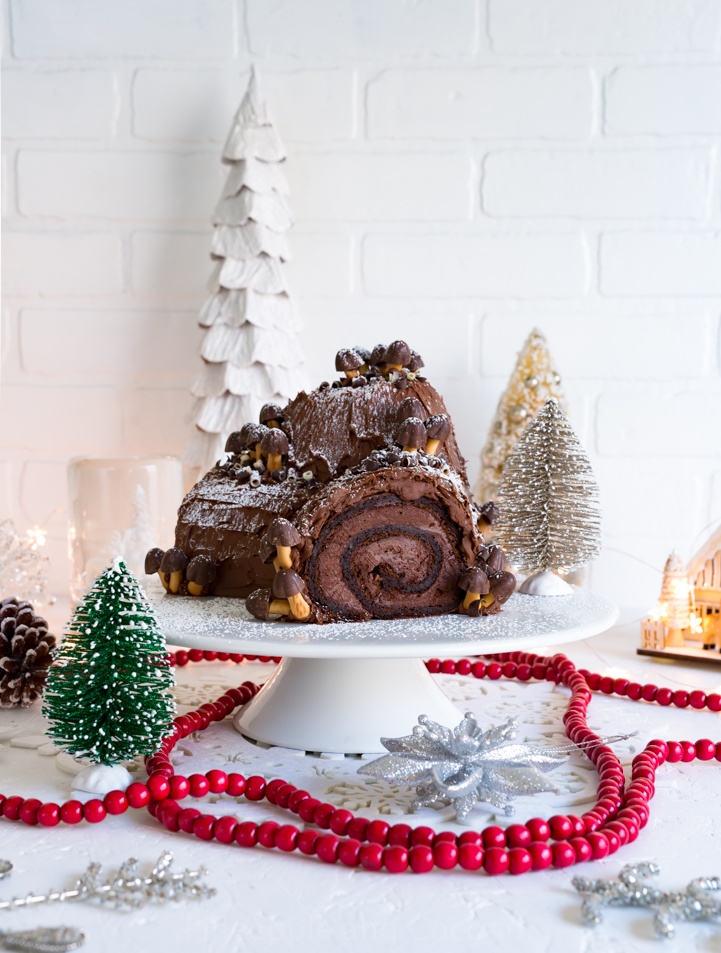 french buche de noel for cost plus world market wwwpineappleandcoconutcom - Decoration Buche De Noel