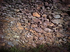 Stone walls for olive terraces