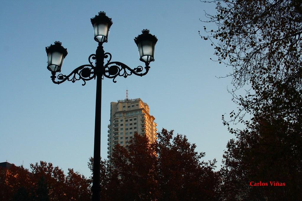Torre De Madrid Plaza Espana Madrid Madrid Bien Visto Mis Fotos