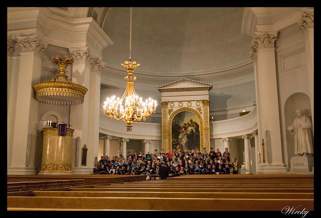 Laponia viaje Madrid Helsinki - Coro de niños de la Catedral