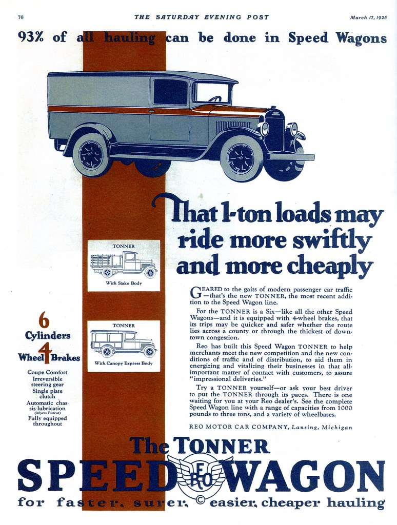 1928 Reo Speed Wagon Tonner | Alden Jewell | Flickr