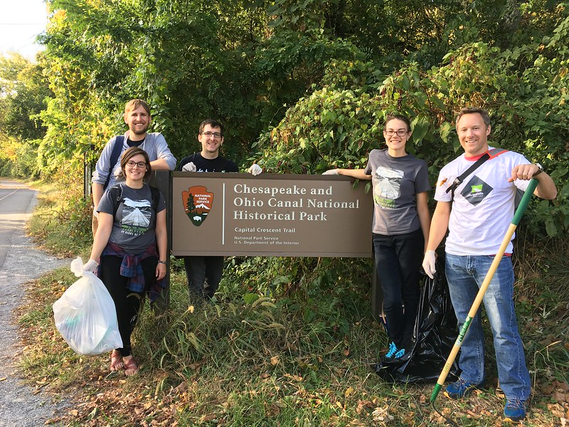 Make a Difference Day 2016 – Capital Crescent Trail Cleanup