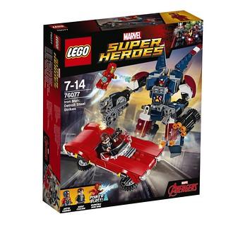 LEGO® 76076 76077 76078【漫威超級英雄系列】2017 Marvel Super Heroes