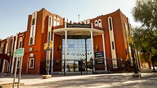 algérie algeria adrar الجزائر ادرار bibliothèque مكتبة sahara désert صحراء الجنوب sud