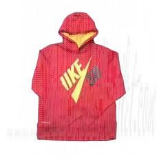 N*Ke Pullover Mesh Hoodie Outwear Fleece Linning Mix Take 4-16 Years