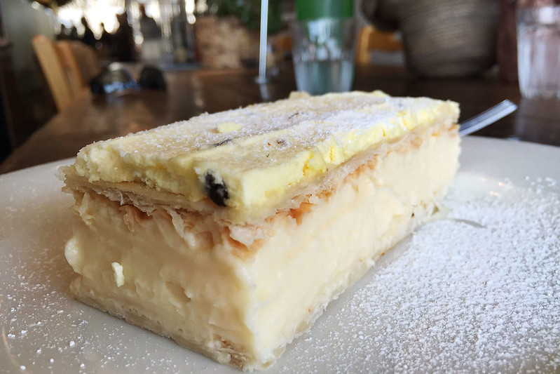 Vanilla slice: Simmone Logue