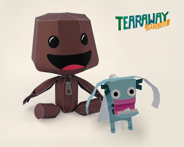Tearaway Unfolded Pre-Order Papercrafts