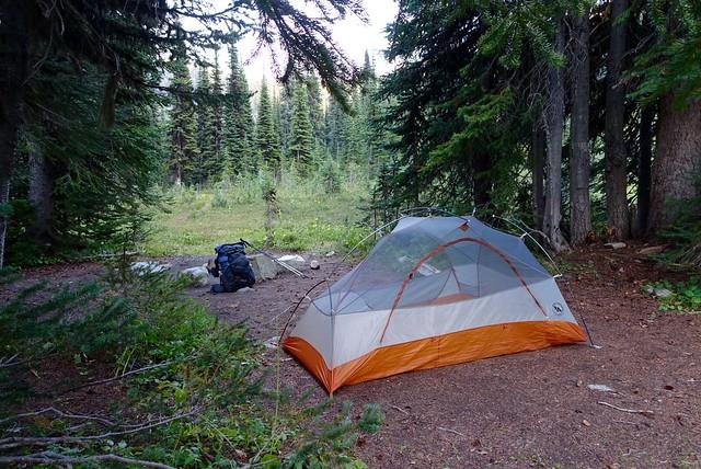 Campsite, 9 August