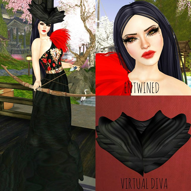 *VIRTUAL DIVA* THUNDER GOWN