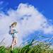 summer field by AZURE_TB