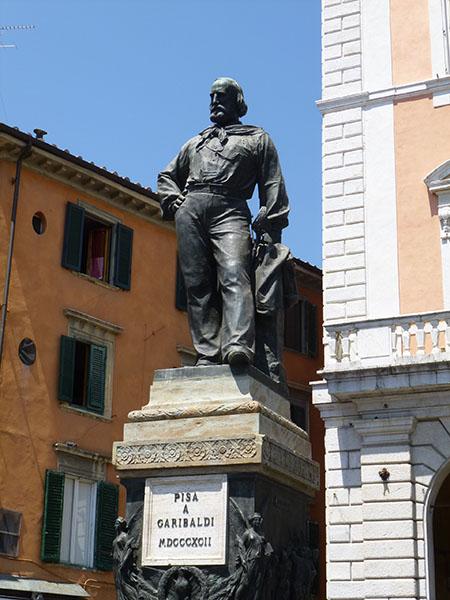 Pise à Garibaldi