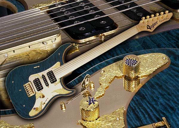 Vigier Anniversary Fretless Guitar