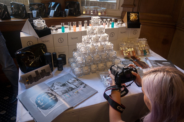 Heaven Skincare stand, Big Blogger Conference