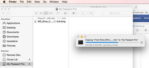 ทดลองก็อปปี้ไฟล์ขนาด 10GB เสร็จใน 45 วินาที ถือว่าเร็วเอาเรื่อง