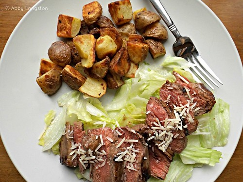 Pan-Seared Filet Mignon With Quick Garlic-Soy Marinade