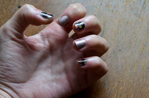 Jamberry Nails - first day