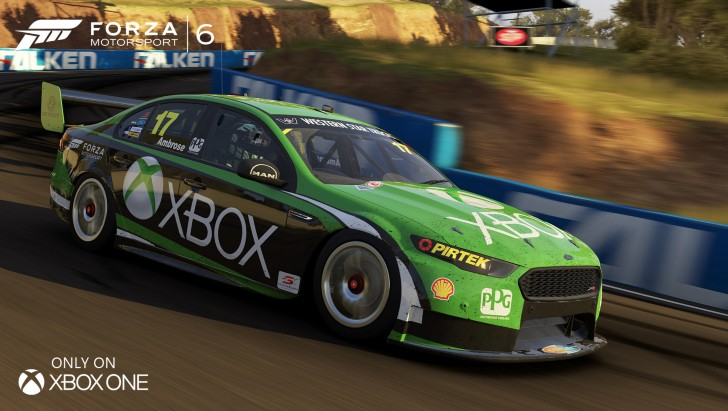 Forza Motorsport 6 V8 Supercar Series Announced