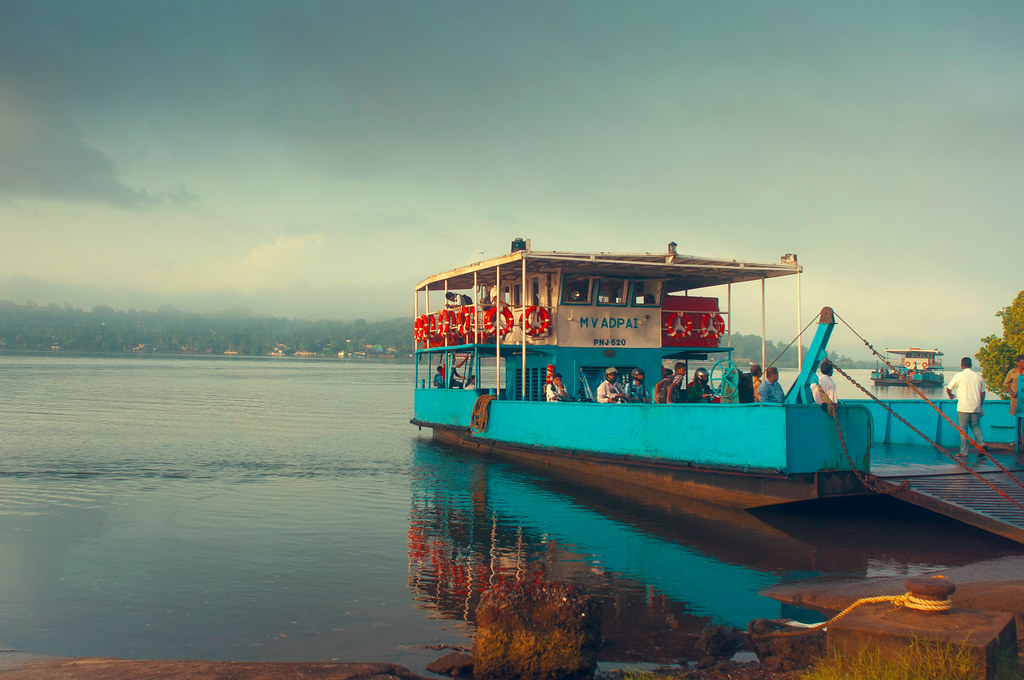 Mandovi River Ferry