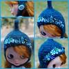 The Folklore Tonttu Helmet: Mountain Bluebird by Euro_Trash