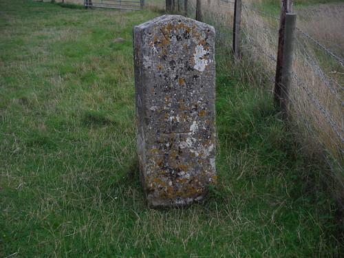 18th C Milestone near Old Shaftesbury Drove