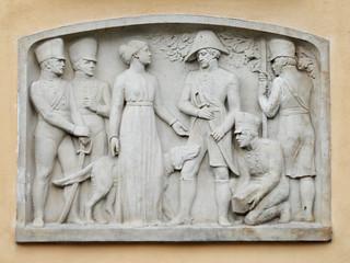 Bolesławiec (Bunzlau) - Gefangennahme des Generals le Brun