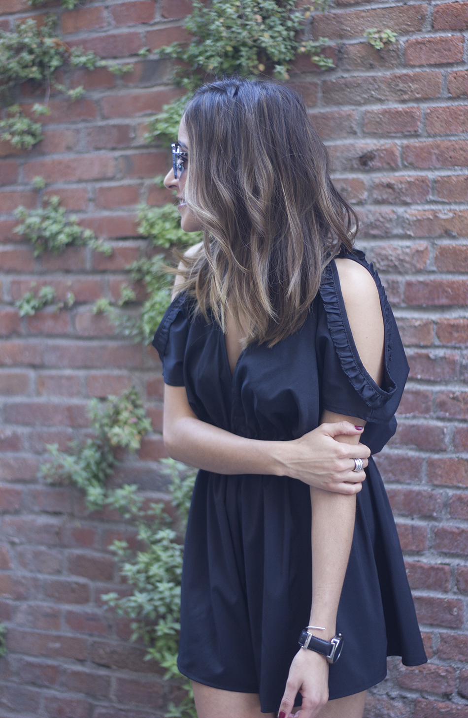 Black Jumpsuit With Adidas SuperStar07