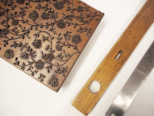 Holzmodel für den Handdruck