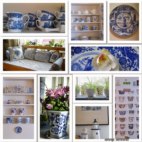 My blue and white kitchens