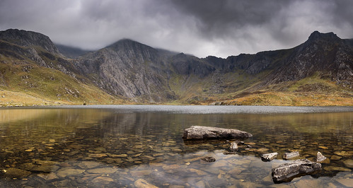 In a sombre mood - Llyn Idwal