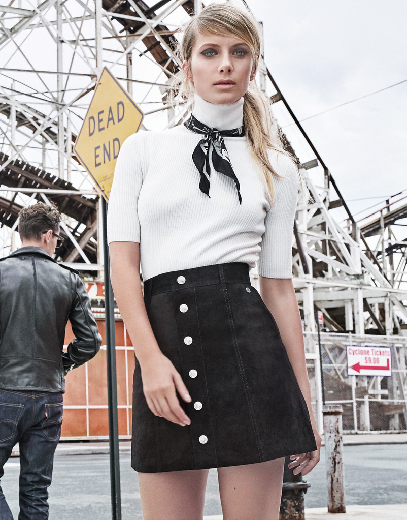 Мелани Лоран — Фотосессия для «The Edit» 2015 – 3