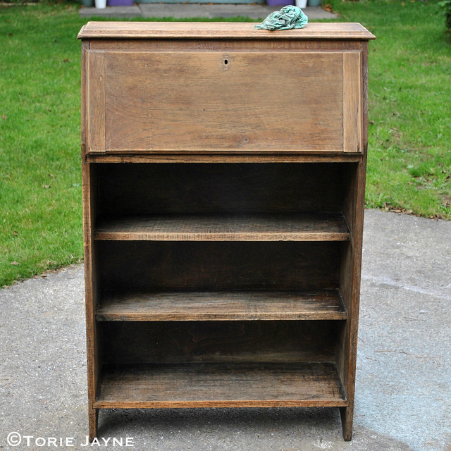 Wooden Bureau - During