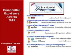 2015 Brandon Hall Winners