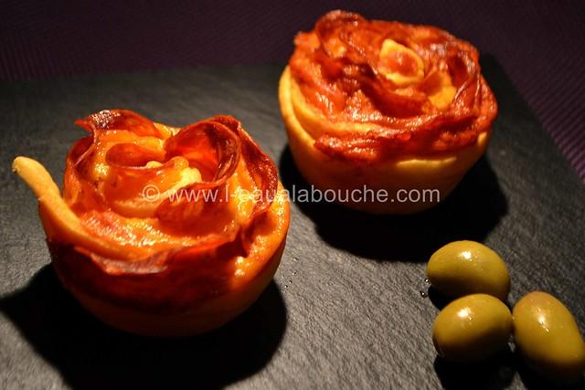 Rose au Chorizo et au Cheddar © Ana Luthi Tous droits réservés 20