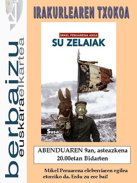 Su Zelaiak liburua Irakurleen Txokoan