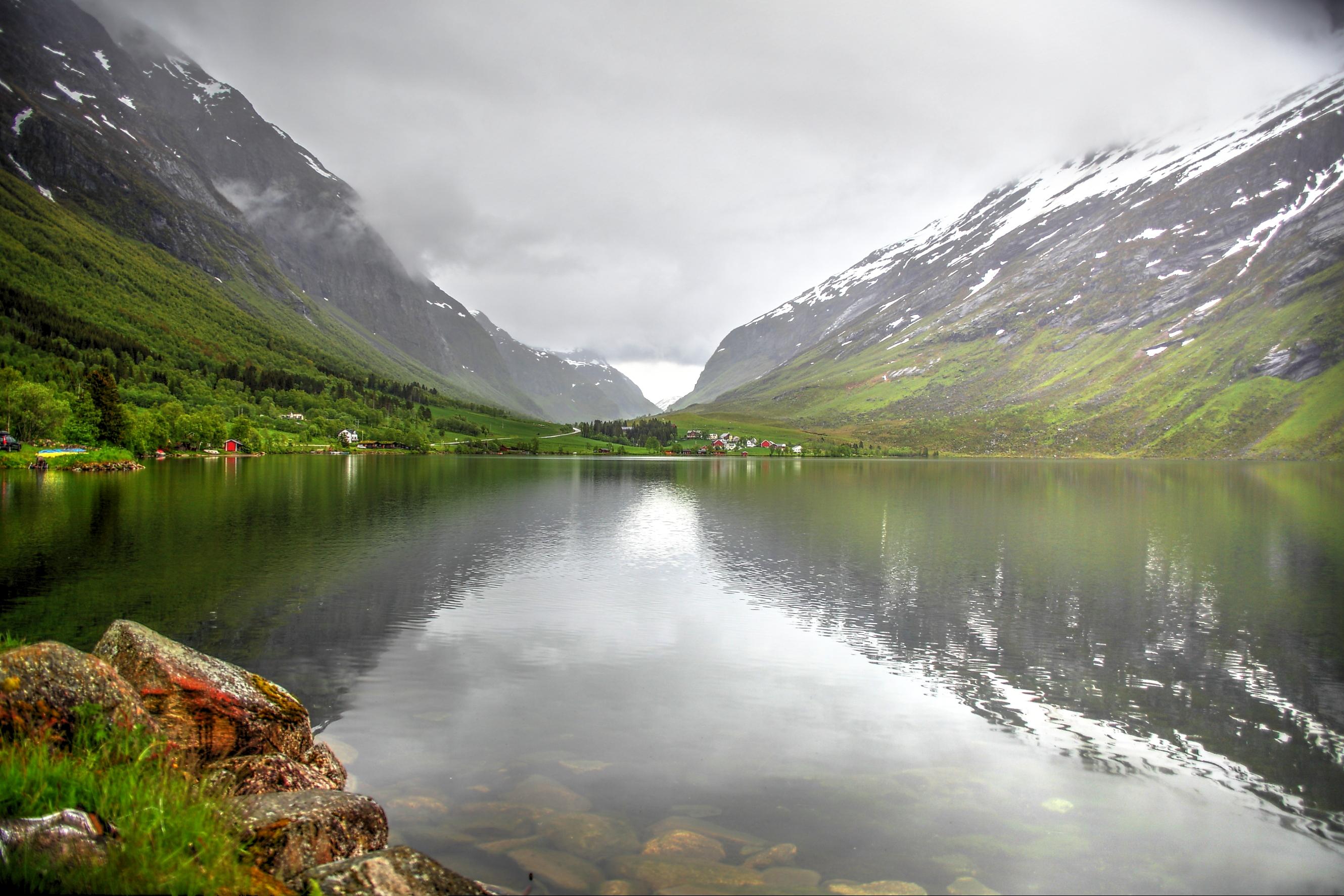 唯美挪威风景图片
