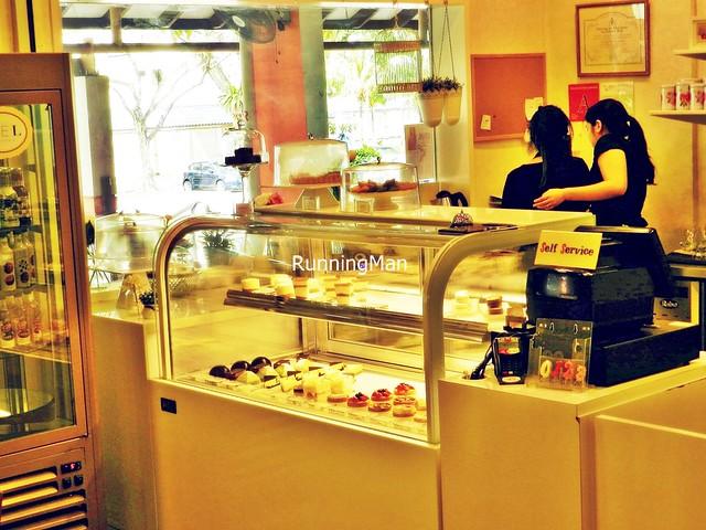 Ciel Patisserie Dessert Display